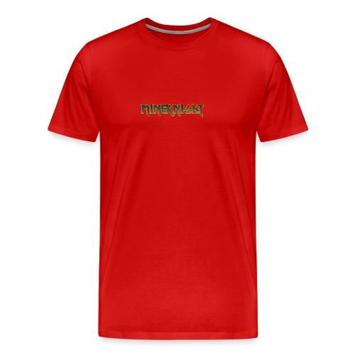 MineKnight T-shirt - Premium-T-shirt herr