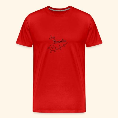 Just Breathe Tanktop - Mannen Premium T-shirt