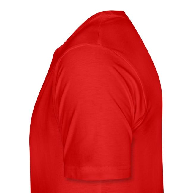 Lasten t-paita punaisella logolla