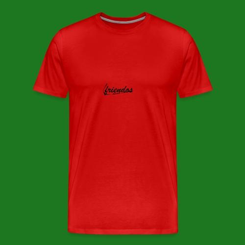 Mannen baseball t-shirt Friendos - Mannen Premium T-shirt