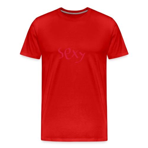 sexy tøj - Herre premium T-shirt