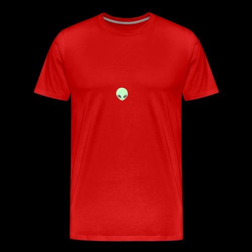 Alien-pet - Mannen Premium T-shirt