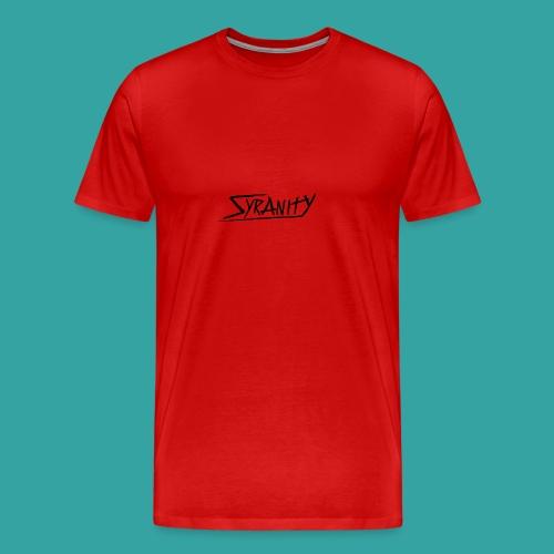 Syranity Blue Shirt Black Pressing (Boys) - Men's Premium T-Shirt