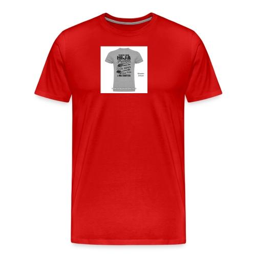 camiseta-tengo-una-hija-preciosa - Camiseta premium hombre