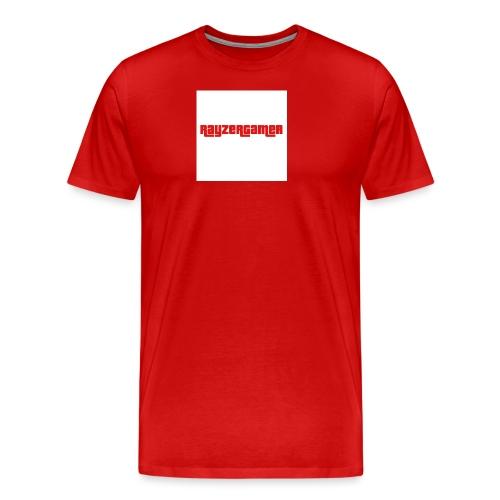 RayZerGamer logo - Men's Premium T-Shirt