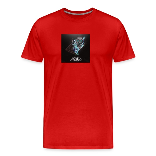 Space Zombii shirt logo design. - Camiseta premium hombre