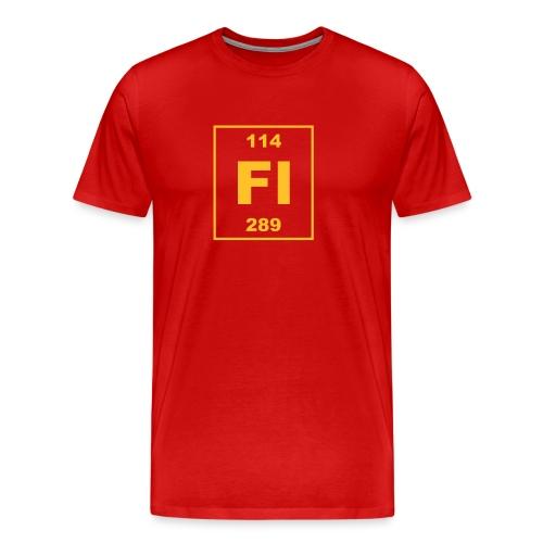 Flerovium (Fl) (element 114) - Men's Premium T-Shirt