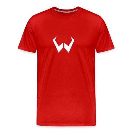 logo de without gravity pk - Camiseta premium hombre