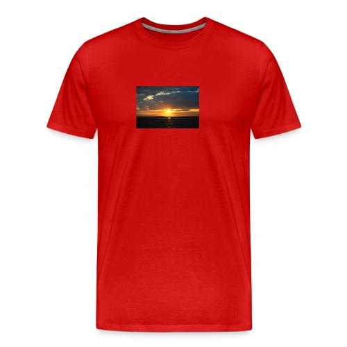 t-shirt zonsondergang - Mannen Premium T-shirt