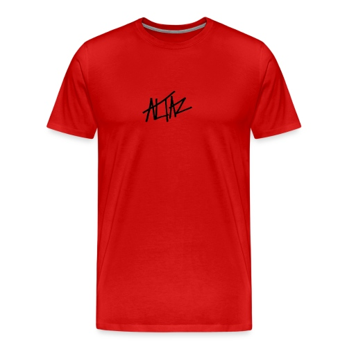 Altaz Clean Logo - Premium-T-shirt herr