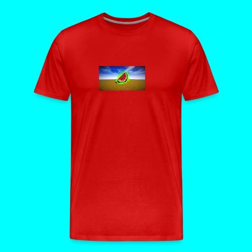 Meloen Heilig - Mannen Premium T-shirt