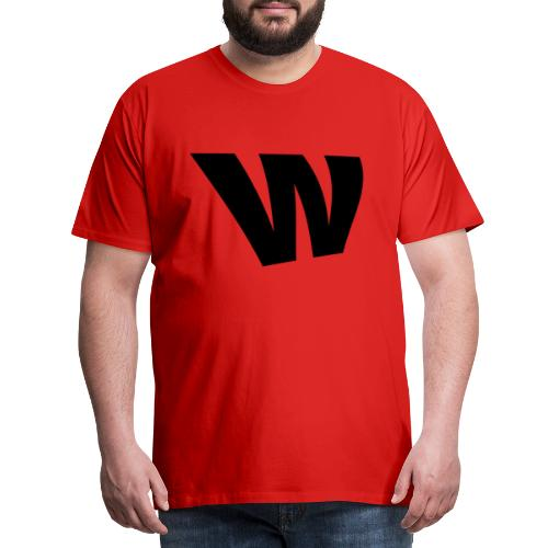 W black - Men's Premium T-Shirt