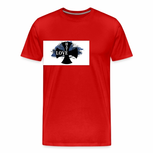 Love hate T SHIRT - Men's Premium T-Shirt