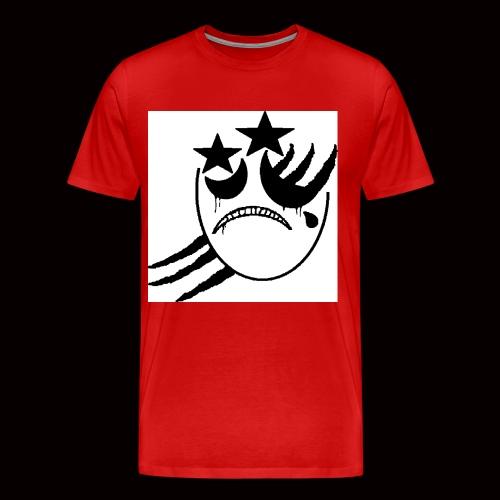 SIDERZchromelogo - Men's Premium T-Shirt