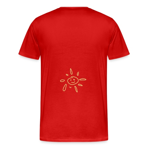 sonne smiley Strand Shop - Männer Premium T-Shirt