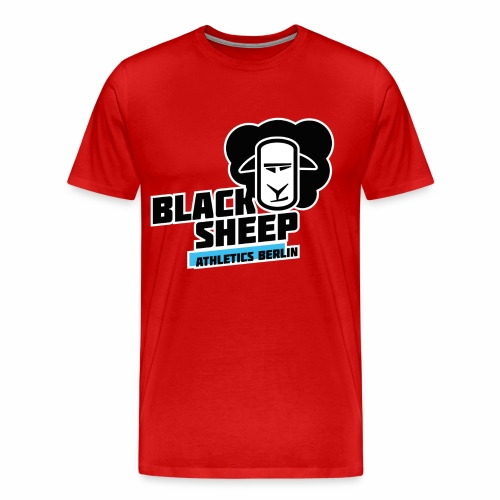 161203_BLACK_SHEEP_witout - Männer Premium T-Shirt