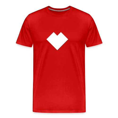 je_vit - Premium-T-shirt herr