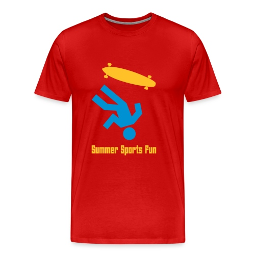 summer - Premium-T-shirt herr