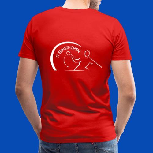 TTE Logo Weiss - Männer Premium T-Shirt