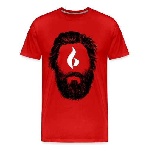 Head 2 HD png - Männer Premium T-Shirt