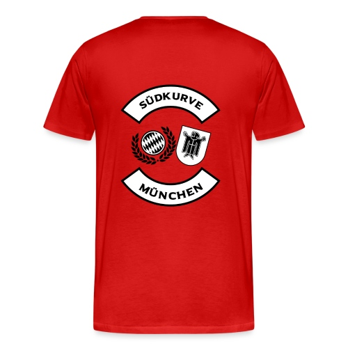südkurve MUC gangshirt - Männer Premium T-Shirt