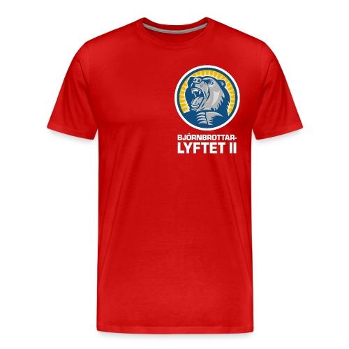 bbl brost vit png - Premium-T-shirt herr