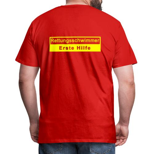 Rettungsschwimmer & Erste Hilfe - Männer Premium T-Shirt