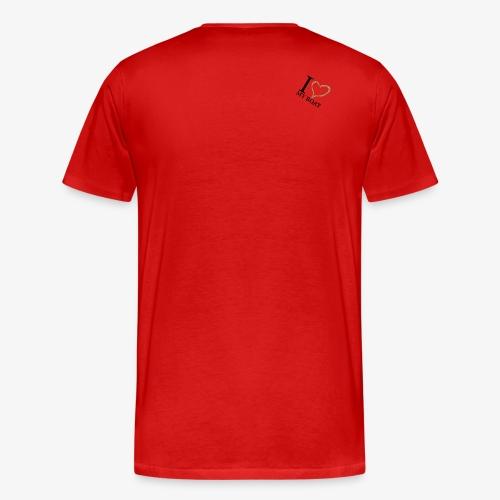 I love my boat - Männer Premium T-Shirt