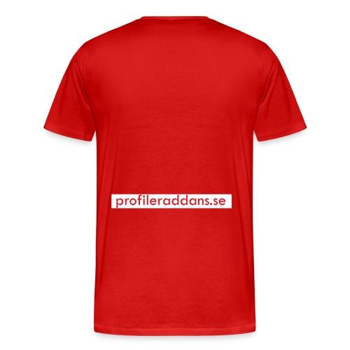 profileraddans.se - Premium-T-shirt herr