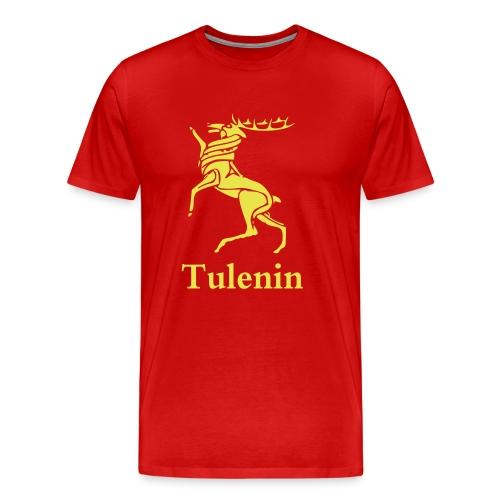 bc tulenin hirsch schrift - Männer Premium T-Shirt