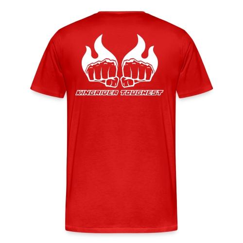 Kingriver Toughest - Premium-T-shirt herr