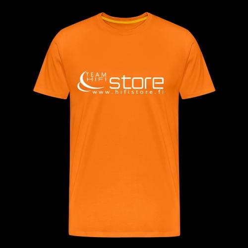Hifi Store logo - Miesten premium t-paita