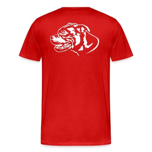 staffbullblack - Männer Premium T-Shirt