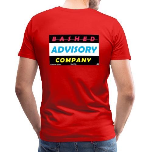 BASHED ADVISORY - Herre premium T-shirt