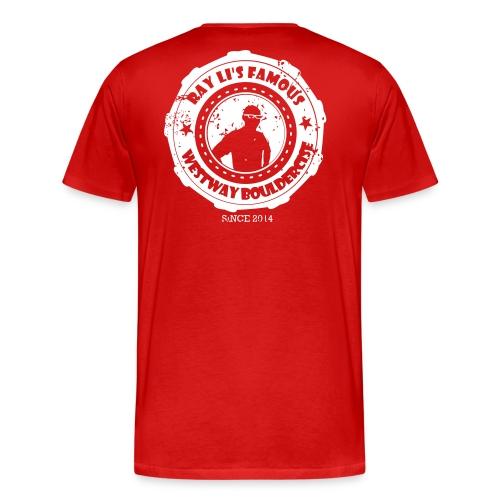 bouldercise3 - Men's Premium T-Shirt