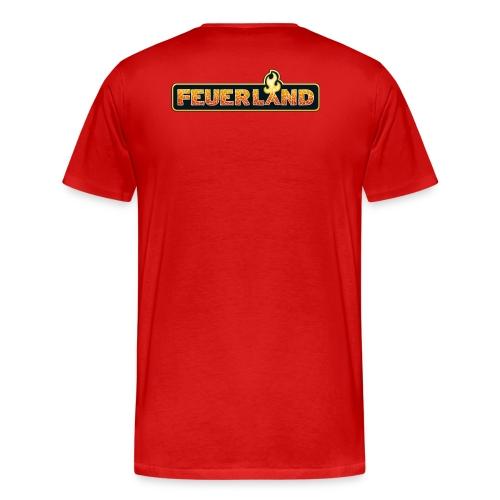 shirt feuerland logo - Männer Premium T-Shirt