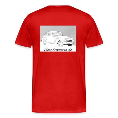 Buckelvolvo Alter Schwede - Männer Premium T-Shirt