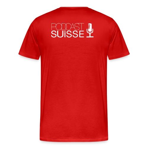 psuisse png - T-shirt Premium Homme