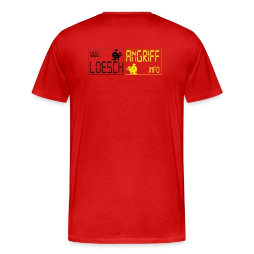 logo2014schwarzgelb2 png - Männer Premium T-Shirt