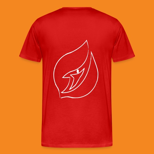 LOGO TRANSP RECADRbw - T-shirt Premium Homme