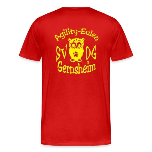 agilityeulen - Männer Premium T-Shirt