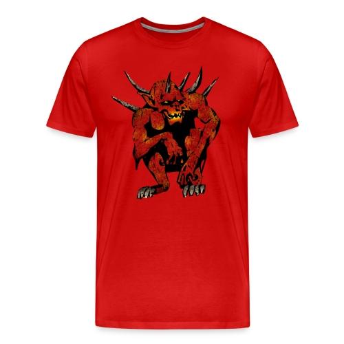 Demon - Männer Premium T-Shirt