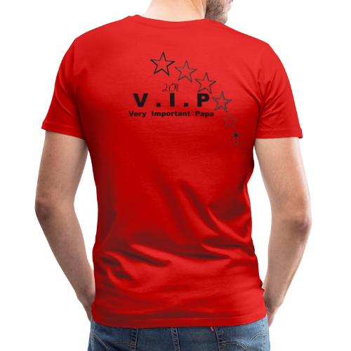 Very Important Papa 2011 - VIP - Version 01 Star - T-shirt Premium Homme