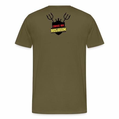 Come On Belgium - T-shirt Premium Homme