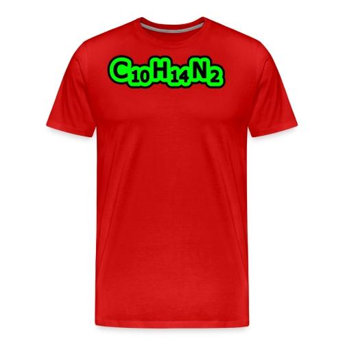 tshirt nicotine 2 exp - T-shirt Premium Homme