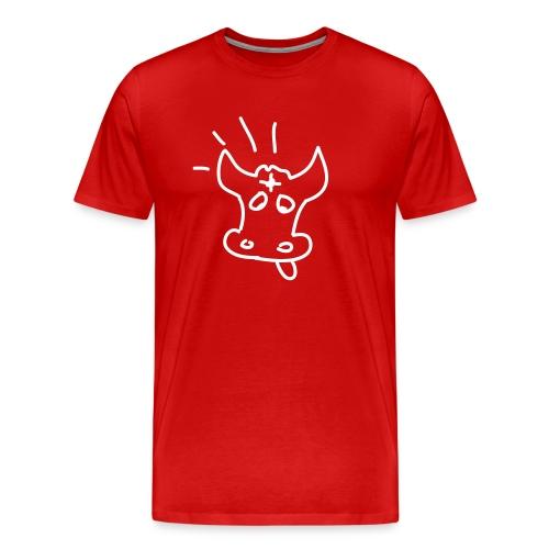 Mach die Kuh tod - Männer Premium T-Shirt
