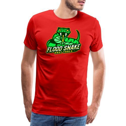 Floodsnake mit Logo - Männer Premium T-Shirt