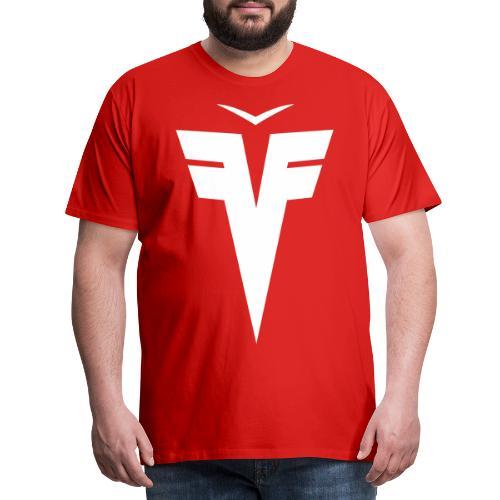 France Five épaules hexagone - T-shirt Premium Homme