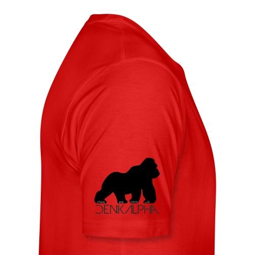 denkalpha gorilla - Männer Premium T-Shirt