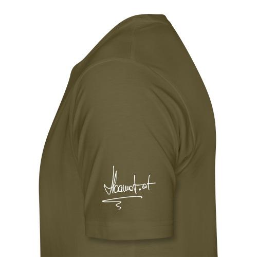 hoamat handschrift - Männer Premium T-Shirt